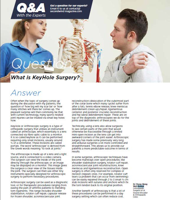 What is KeyHole Surgery?